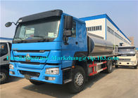 SINOTRUK HOWO12000L Asphalt Sprayer Equipment / Bitumen Sprayer Truck Automatic