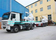 Cina Fuwa 13 Ton Axle Port Handling Equipment Sidelifter Container Trailer Untuk Lifting pabrik