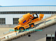 Durable Concrete Construction Equipment 4X4X2 Mobile Cement Mixer Trucks