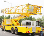 Cina 8x4 Arm Type Bridge Inspection Bailey Vehicle Dengan CA1310P63K2L6TCA1 Chassis pabrik