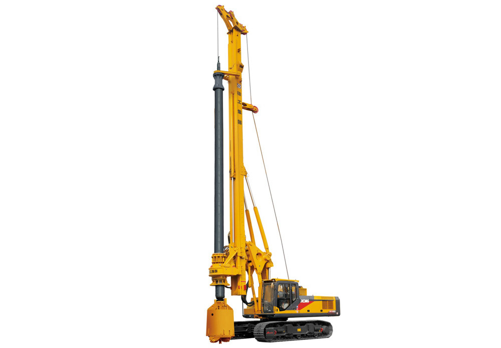 XR180D Pile Drilling Machine / Mobile Rotary Drilling Rig 1 Year Warranty