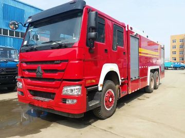 Truk Khusus Merah, HOWO Heavy Duty Emergency 6x4 Fire Fighting Truck